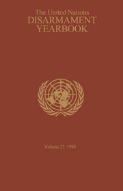 United Nations Disarmament Yearbook
