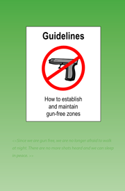 Guidelines — How to establish and maintain gun-free zones