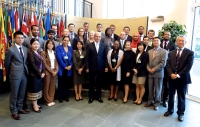 2013 UN Disarmament Fellows meeting Mr. Uzumcu, Director-General of OPCW