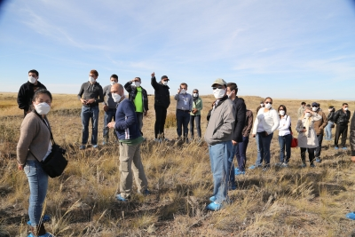 2013 UN Disarmament Fellows at the former Soviet nuclear weapons test site at Semipalatinsk, Kazakhstan