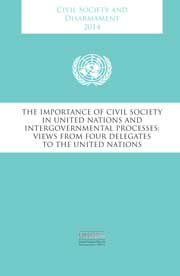 Civil Society and Disarmament, 2014