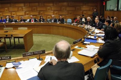 Meeting of Secretary-General Ban Ki-moon with the board members of his Advisory Board on Disarmament Matters, 2009.