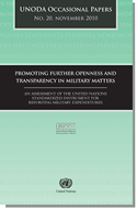 Promoting Further Openness and Transparancy in Military Matters