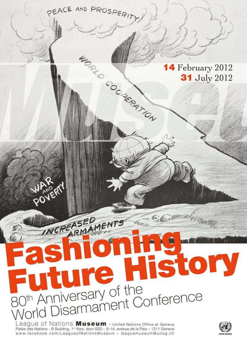 Fashioning Future History Poster