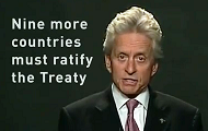 UN Messenger for Peace Michael Douglas Calls for Support for the CTBT