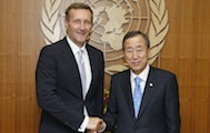 Secretary-General celebrates 15th anniversary of CTBTO and opening of new UNODA office in Vienna.