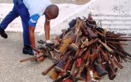 UNLIREC assists Jamaica to combat illicit firearms through firearms destruction and capacity building