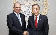 OPCW Director-General Meets UN Secretary-General