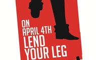 UN Organizations Support Action on 4 April to End Landmine Tragedies - International Day for Mine Awareness - Lend Your Leg Campaign
