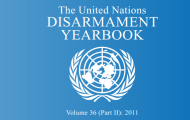 The 2011 UN Disarmament Yearbook Volume II is Now Available Online