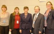 Humanitarian Disarmament Campaigns Summit Delegates Present Communiqué to High Representative