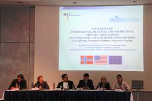 Closing ceremony of the conference