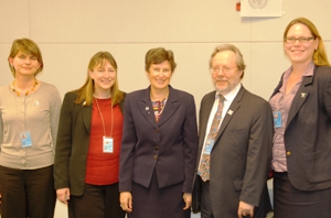 High Representative Angela Kane meets with Humanitarian Disarmament Campaigns Summit delegates