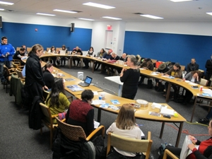NYC high school teachers in training on nuclear disarmament at the United Nations Headquaters