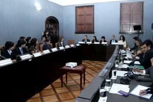 Meeting in Bogata